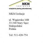 Kontakt MKM Izolacje
