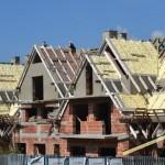 Dach izolowany pianką