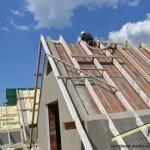 Izolacja dachu pianką